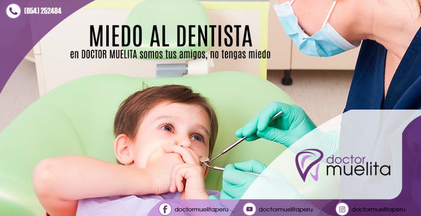¿Tu niño no quiere ir al dentista?