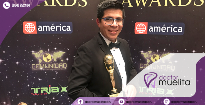 Doctor Muelita ganador en los Premios International Bussines Awards 2017