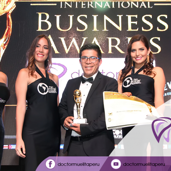 Un gran paso para Clínica Dental Doctor Muelita en los Premios International Bussines Awards 2017