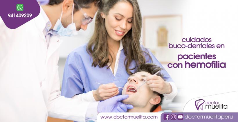 Cuidados Buco-Dentales en Pacientes con Hemofilia